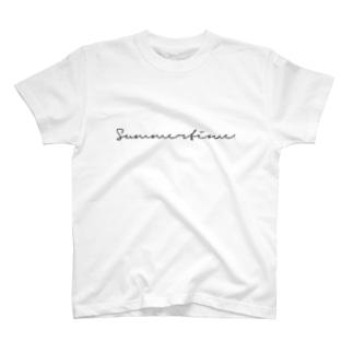Summertime. T-shirts