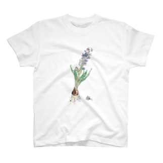 ヒヤシンス T-shirts