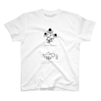 イラストハーブTカモミール T-shirts