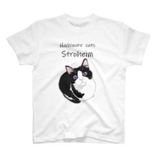 ハチワレねこのシュー No.1 T-shirts
