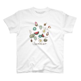 サマー summer 夏 T-shirts
