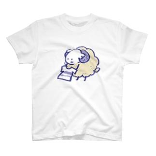 洗濯物を干す めりもこさん T-Shirt