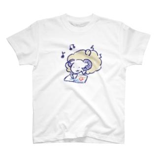 お絵描きする めりもこさん T-Shirt