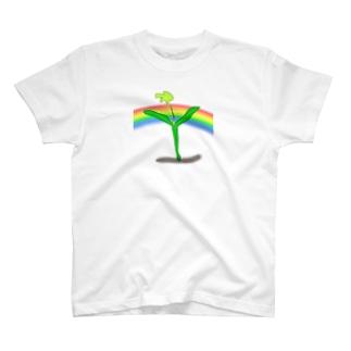 パクチーの芽 T-shirts