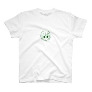 ozzoの緑少女 T-shirts