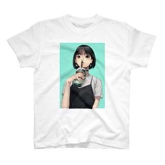 NNNNN. SUZURI店のたぴがーる T-shirts
