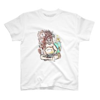 三面大黒天 T-shirts
