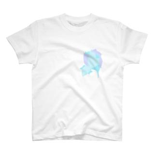 水色魚 T-shirts
