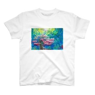 artist  soraの群青の桜華 T-shirts