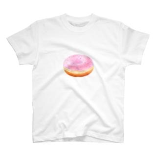いちごドーナツくん T-shirts