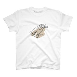 ぽんず すたじおのオーバーオール T-shirts