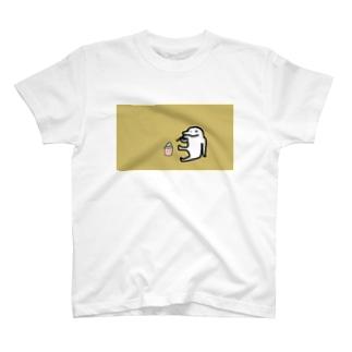 【イルカニソゲソ】哀愁漂う T-shirts