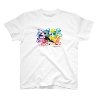 01シリーズ/デザイン/クリエイティブ/アート/スパクリ T-shirts