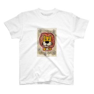 ライオンくん 銀 T-shirts