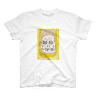 ガガガ ガイコツ T-shirts