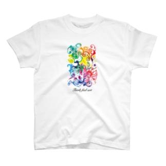 02シリーズ/デザイン/クリエイティブ/アート/スパクリ T-shirts