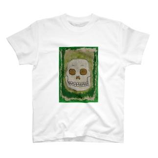ガガガ ガイコツ2 T-shirts