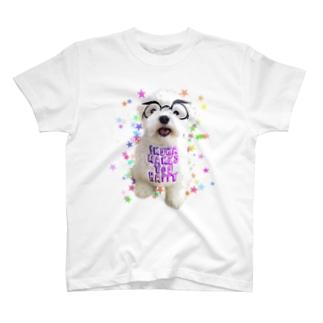メガネいくら T-shirts