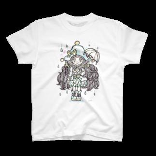 yukamimiの雨が降っても平気。 T-shirts