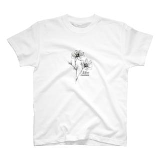 てんびん座の誕生花 T-shirts