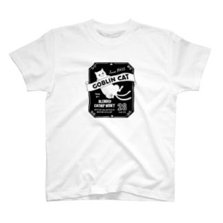 化け猫ウヰスキー T-shirts