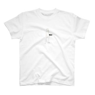 TMAKのGirl 1 T-shirts