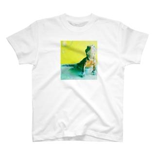 トゲオアガマ ムハンマド氏 シャボン玉 T-shirts