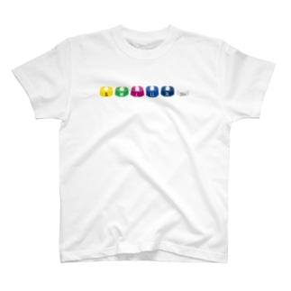 時雨のサイズチップ T-shirts