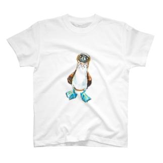 うぽんのアオアシカツオドリくん T-shirts