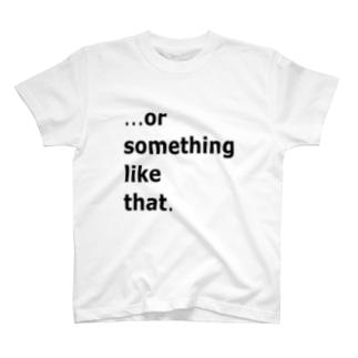 英字的なデザイン T-shirts