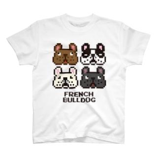 ドットブヒ集合! T-shirts