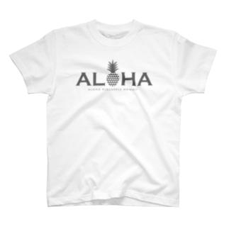 アロハ パイナップル 002 T-shirts