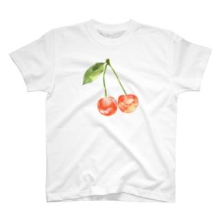 艶々🍒さくらんぼ T-shirts