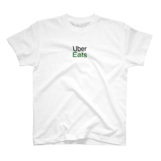 UberEetsTシャツ T-shirts