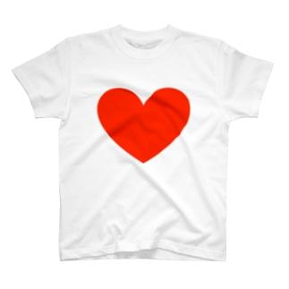 でっかいハート T-shirts