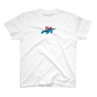 恐竜とウサギずきんちゃん T-shirts