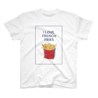 I LOVE FRENCH FRIES T-shirts
