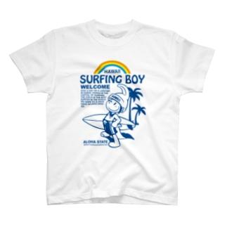 Surfing Boy Tシャツ T-shirts