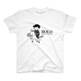 HarmonyCollege_Osyan-T-shirtのBOLOBOY(BLACK) T-shirts