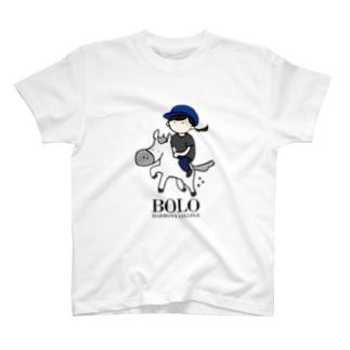 BOLOGIRL(kuro)縦 T-shirts