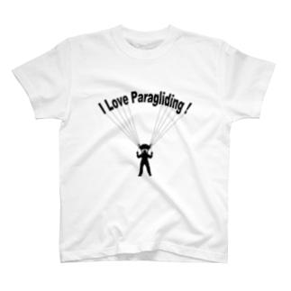 パラグライダー T-shirts