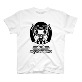 SUPER MARiMO LANDのAQUA MARiMO T-shirts