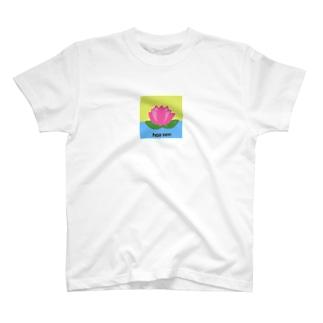 CoconaのHoa sen T-shirts