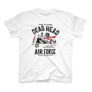 空飛ぶ骸骨~THE FLYING DEAD HEAD~ T-shirts