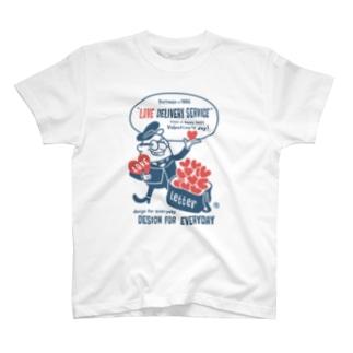 ポストマン&ハート T-shirts