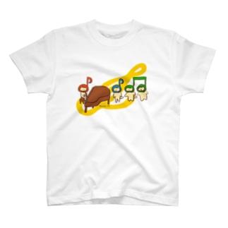 音楽ねこ / The Music T-Shirt