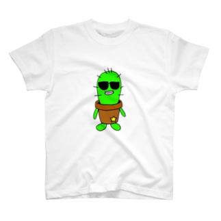 サボテンのフランクリン T-shirts