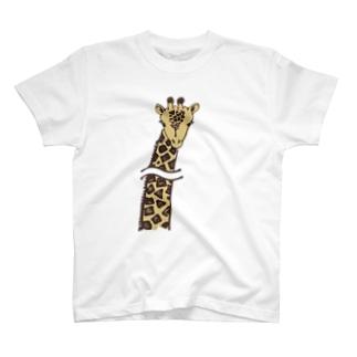首長省略きりん T-shirts