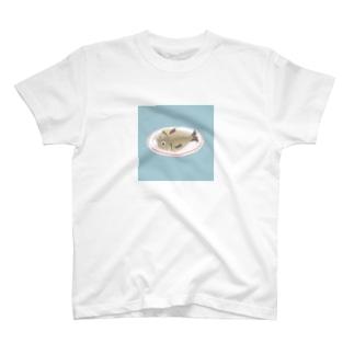 あじのひらき T-shirts