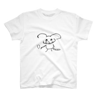 惚けたネズミ  T-Shirt